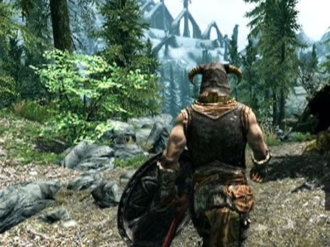 Геймплей  игры The Elder Scrolls V: Skyrim