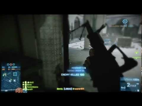 Геймплей Battlefield 3 - Close Quarters