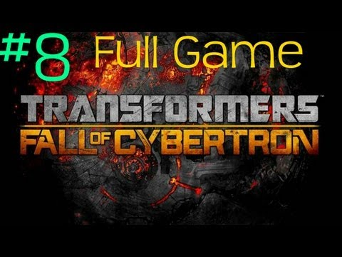 Transformers Fall of Cybertron Walkthrough Part 8 (Jazz)
