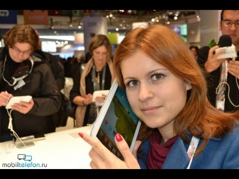 Samsung Galaxy Note 8.0 Демонстрация