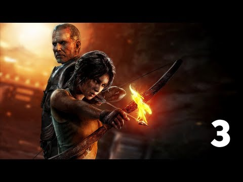 Прохождение Tomb Raider (Tomb Raider walkthrough Xbox) 2013 - часть 3