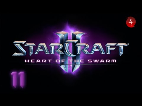 Starcraft 2 Heart of the Swarm прохождение 17