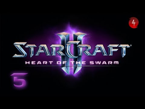 Starcraft 2 Heart of the Swarm прохождение 11