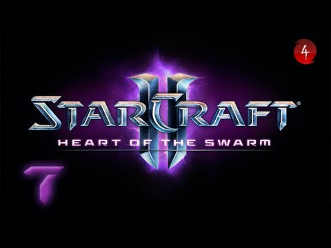 Starcraft 2 Heart of the Swarm прохождение 13