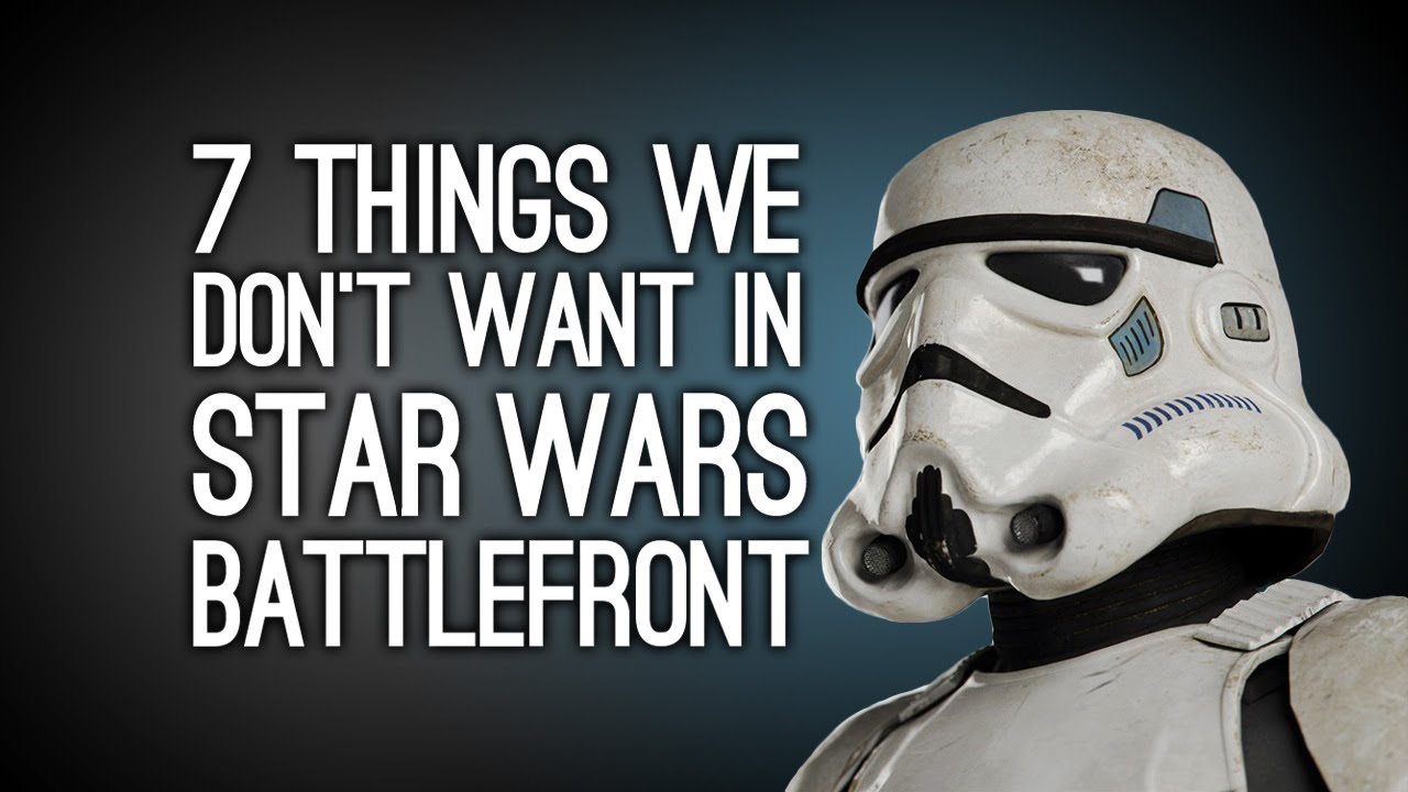 Star wars battlefront трейлер