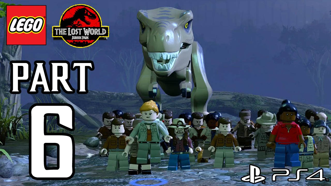 Lego jurassic world вылетает